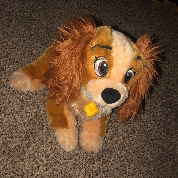 Disney Other Lady Disney Lady And The Tramp Plush Poshmark